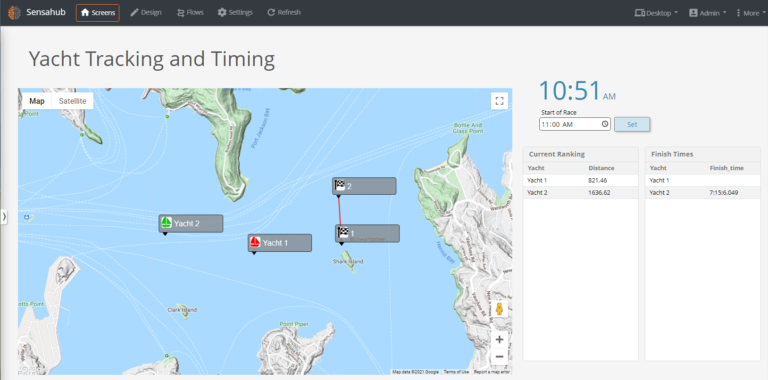Yacht Tracking